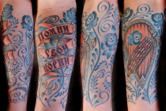 как сделать наклейки татуировкой