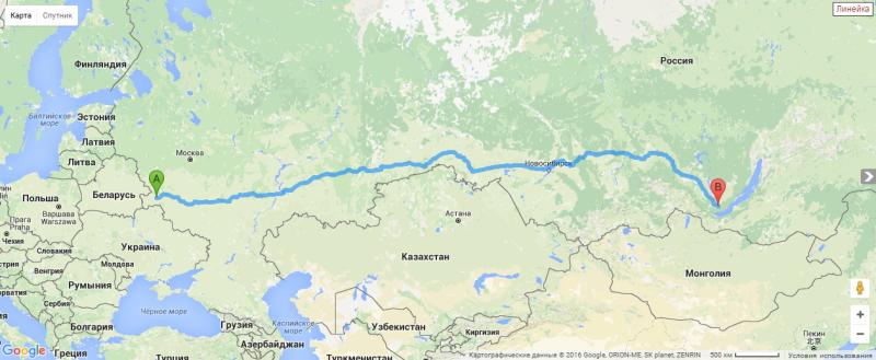 2016-01-31 11-53-50 Проложить маршрут на карте между городами и внутри города. Москва, СПб, вся Россия, Украина, Мир. - Goo