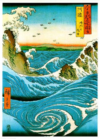 Японская гравюра -  Периода Эдо и  Эпохи  Мэйдзи
