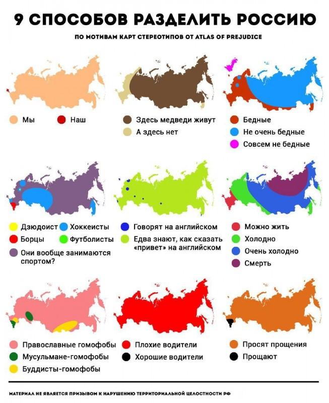 9 способов разделить Россию. Экстремизьма псто
