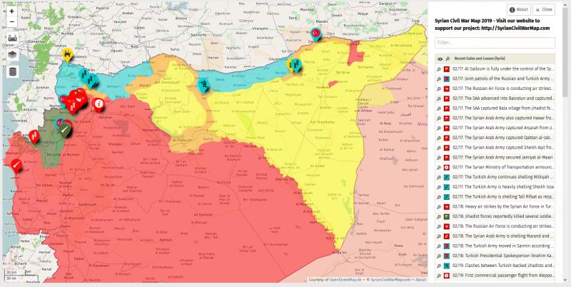 Турция начала наступление в провинции Идлиб