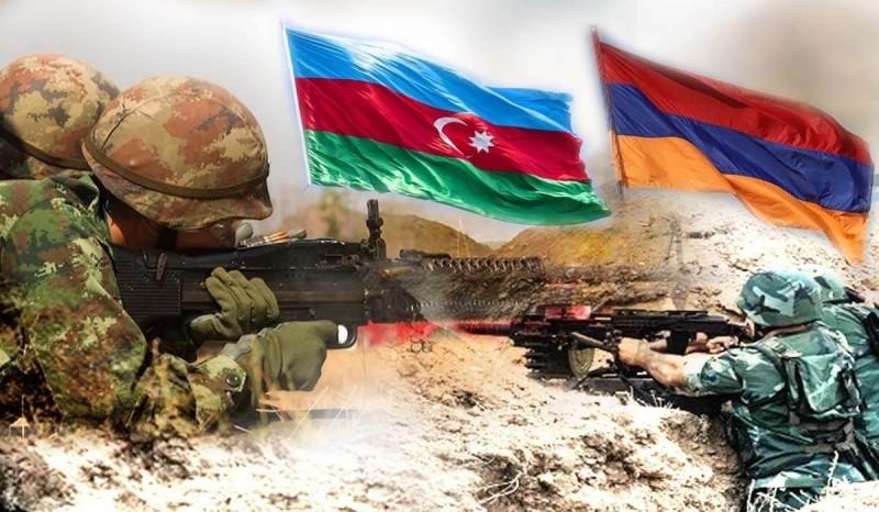 Воскресным утром, на рассвете. Война между Арменией и Азербайджаном.