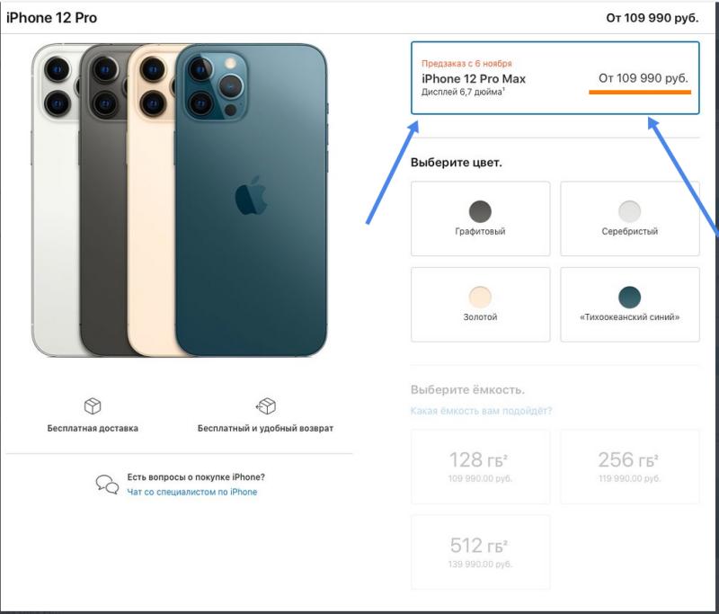 Доллар 100 рублей. Теперь официально. Apple