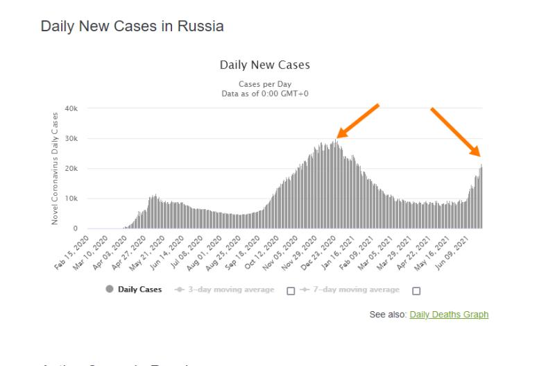 Почему 3 волна эпидемии в России такая разрушительная? Плюс опрос.