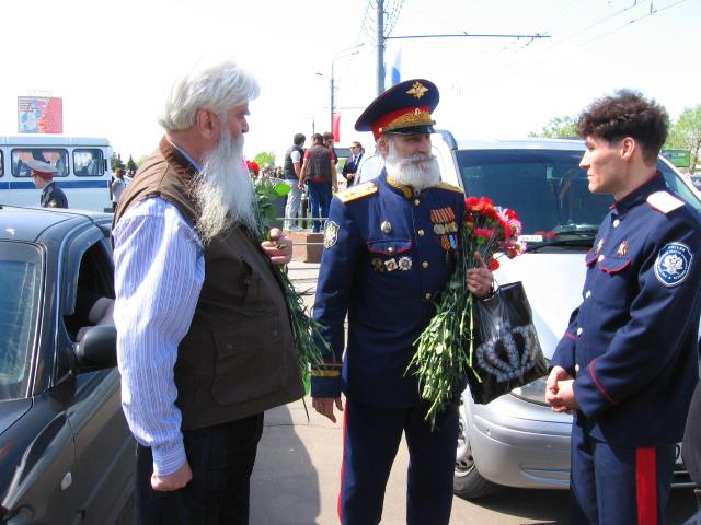 Вахта памяти 2011-акция таксистов Москвы