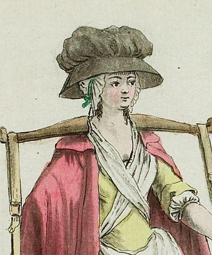 1788 paysanne anglaise _costumes civils actuels de tour les peuples connus, by marechal bunka gakuen edit