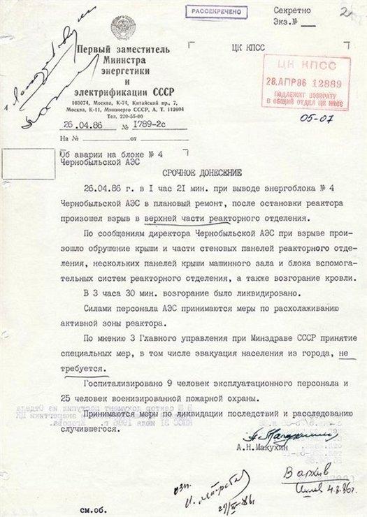 эвакуация Припяти