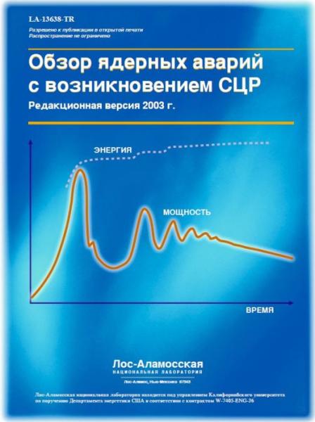 Обзор ядерных аварий с СЦР - титул