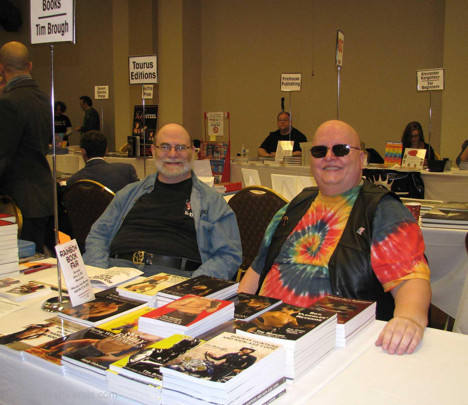 Tim and David book fair