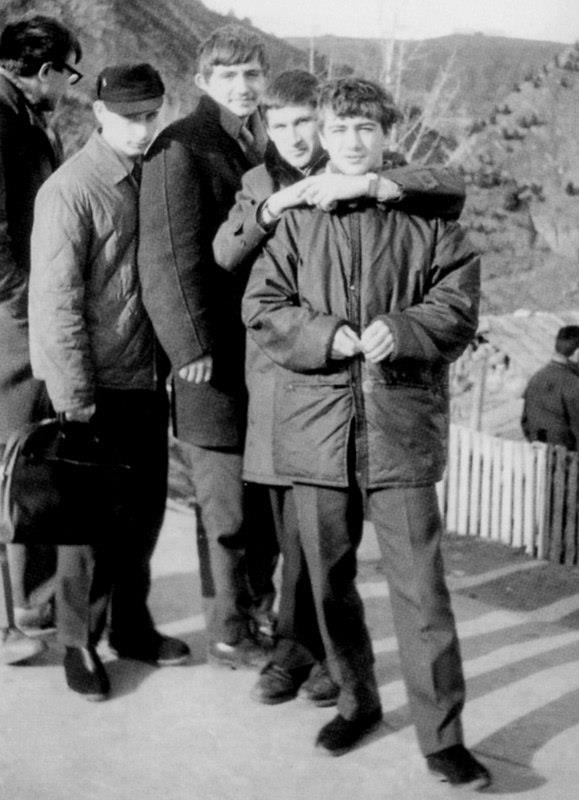 Putin Rotenberg Sambo