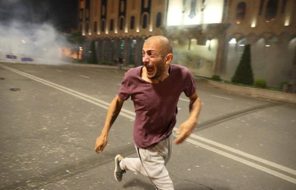 Антирусский мятеж в Тбилиси 21.06.19