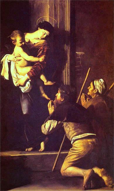 Караваджо Мадонна ди Лорето.1603