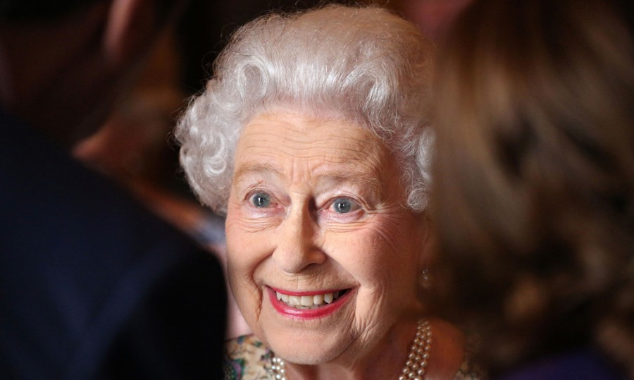 Britains-Queen-Elizabeth-smiles-at-a-reception-for-the-Winners-of-the-Queens-Award-for-Enterprise-2013-at-Buckingham-Palace-in-central-London_1374679888