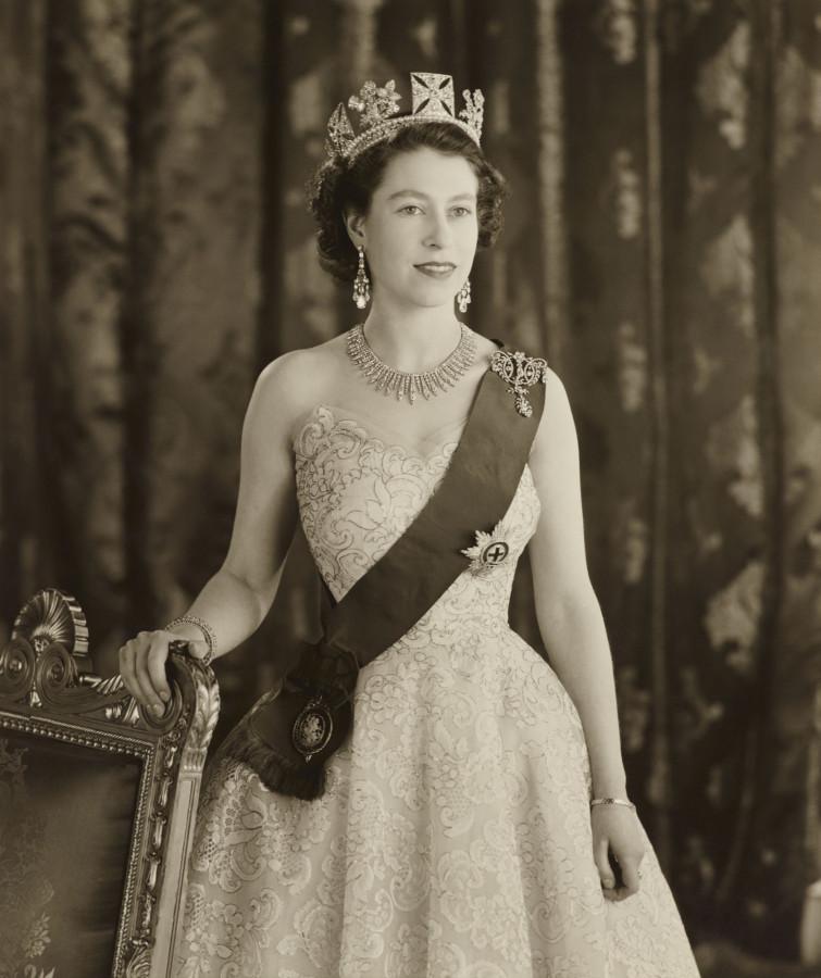 королева великобритании елизавета фото молодость всегда