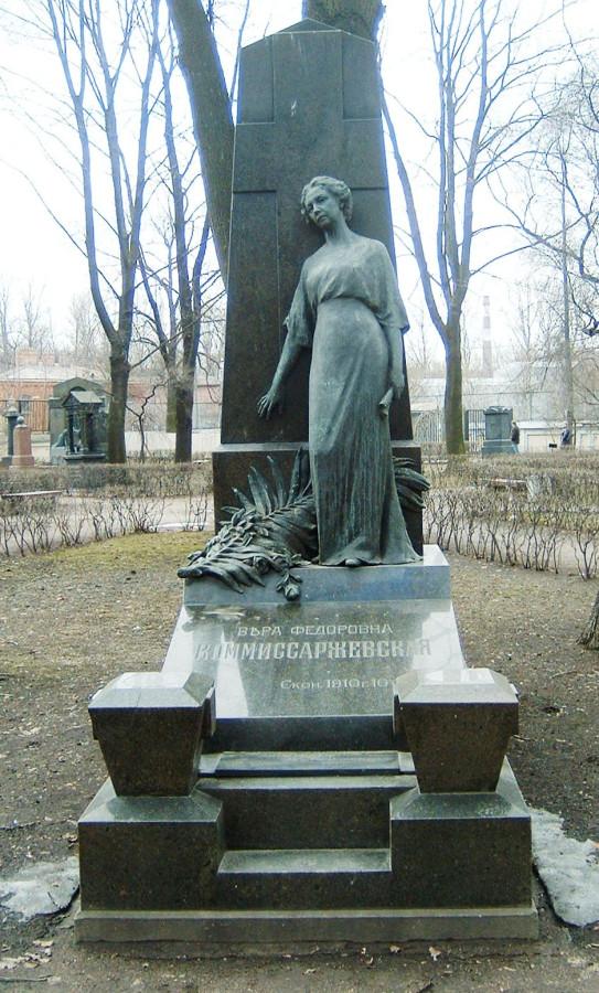 Komissarzhevskaya_grave