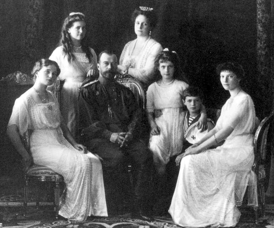 Russian_Royal_Family_1911