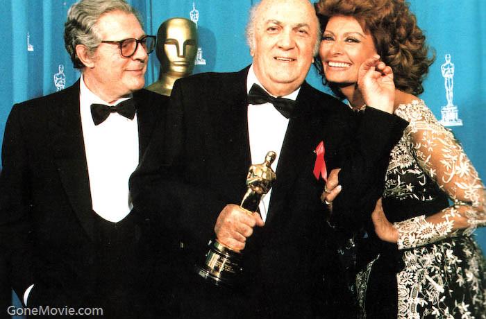 OscarMastroianniFelliniLoren1993