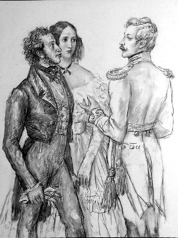дантес и пушкин