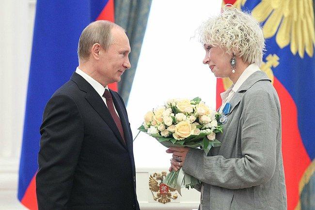 Васильева Путин