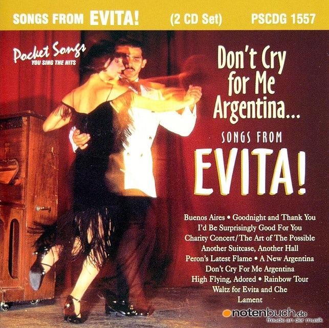 Evita madonna soundtrack