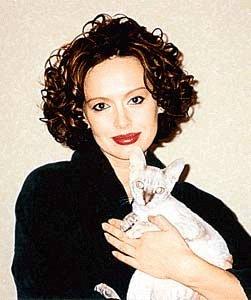 Безрукова с котом
