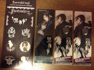 9) Stickers and bookmarks