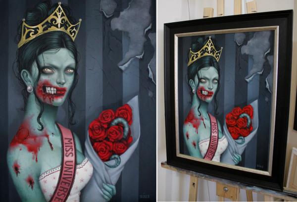 zombie framed