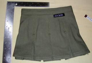 Olive Drab Infant Kilt (back)