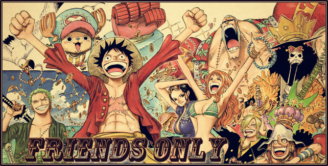 friends only one piece new world 2