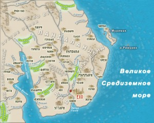 Карта СоедКоролевство