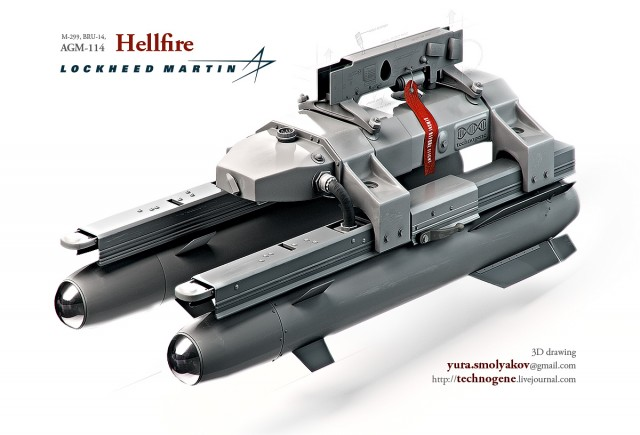Lockheed Martin Hellfire CAD model