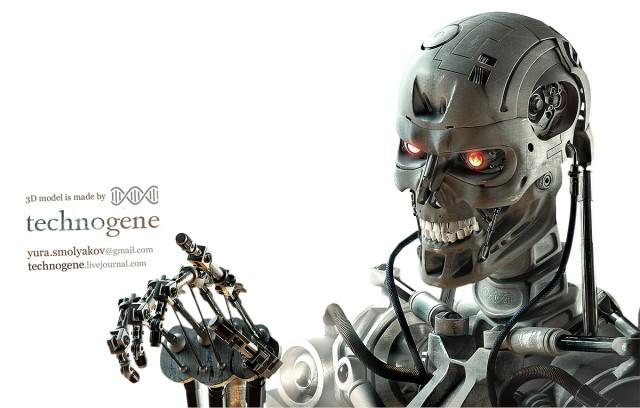 3D droid T-800