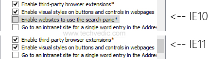 Internet Explorer 11-3
