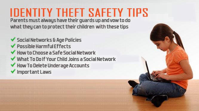 IDENTITY THEFT SAFETY TIPS