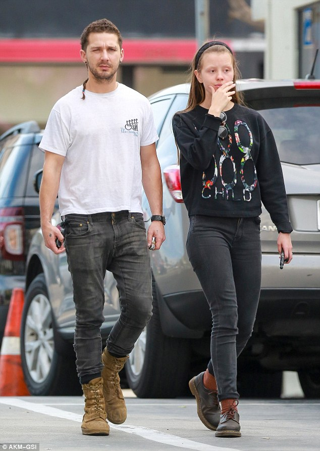 labeouf and gf