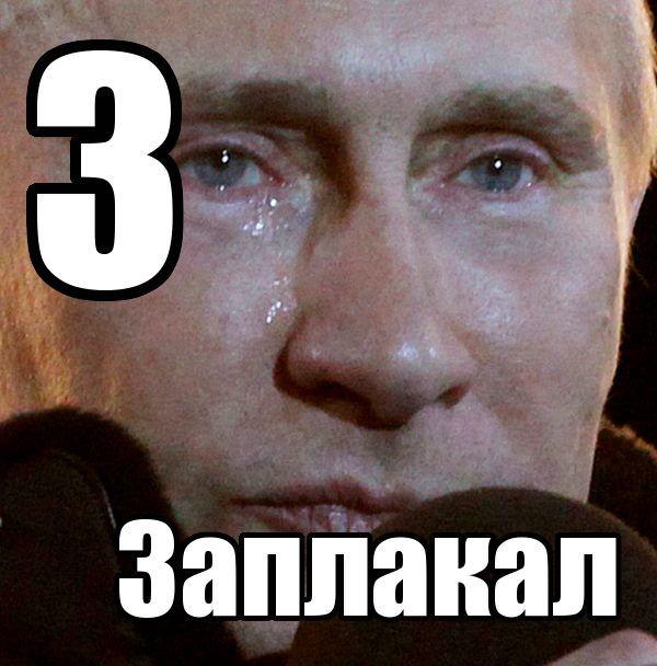 Заплакал