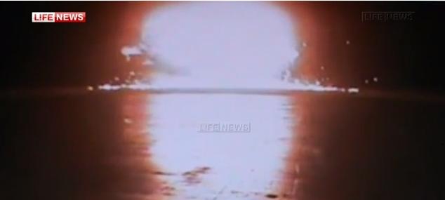 Видео крушения Боинга в Казани