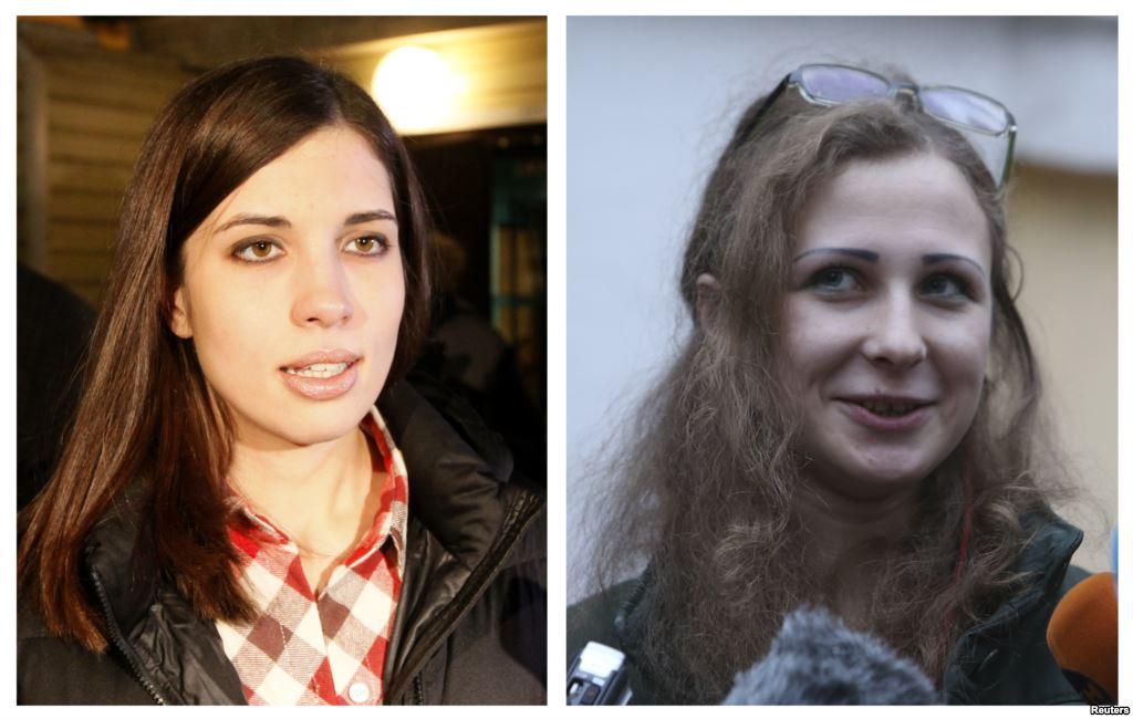Pussy Riot дали интервью Собчак