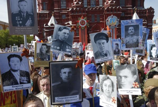 Суд РФ отыскал экстремизм на Параде Победы