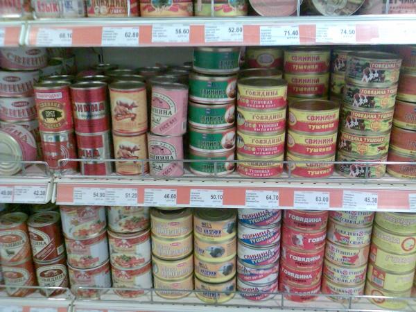 В России фальсифицируют 67% мясных консервов. Импортозамещение в разгаре