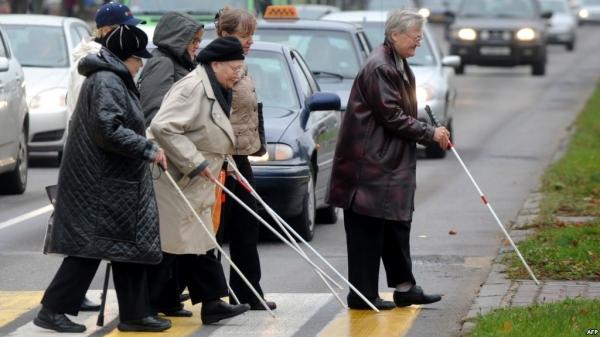 Российским слепым больше некуда податься