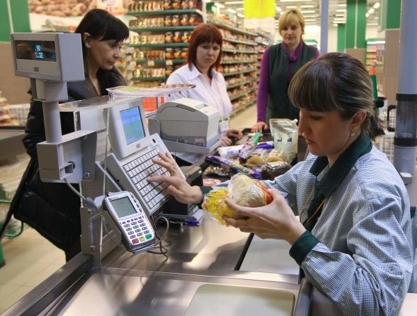 Большая часть денег россиян уходит на еду