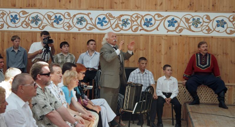 Михаиил Сергееевич Евдокимов (6 декабря 1957— 7 августа 2005) в Текосе, 2004 год
