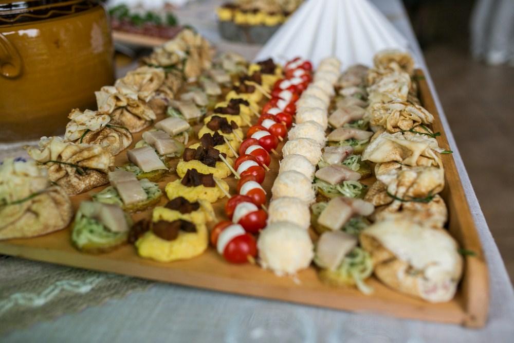 страви на весілля фото