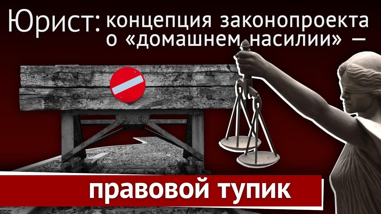 20191205-Юрист- концепция закона о «домашнем насилии» — правовой тупик!-pic1