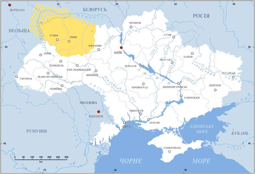 Volhynia (yellow)