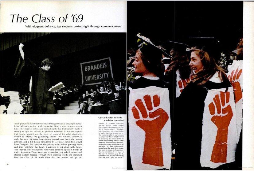 June 20, 1969 issue of LIFE magazine featuring Hillary Rodham.