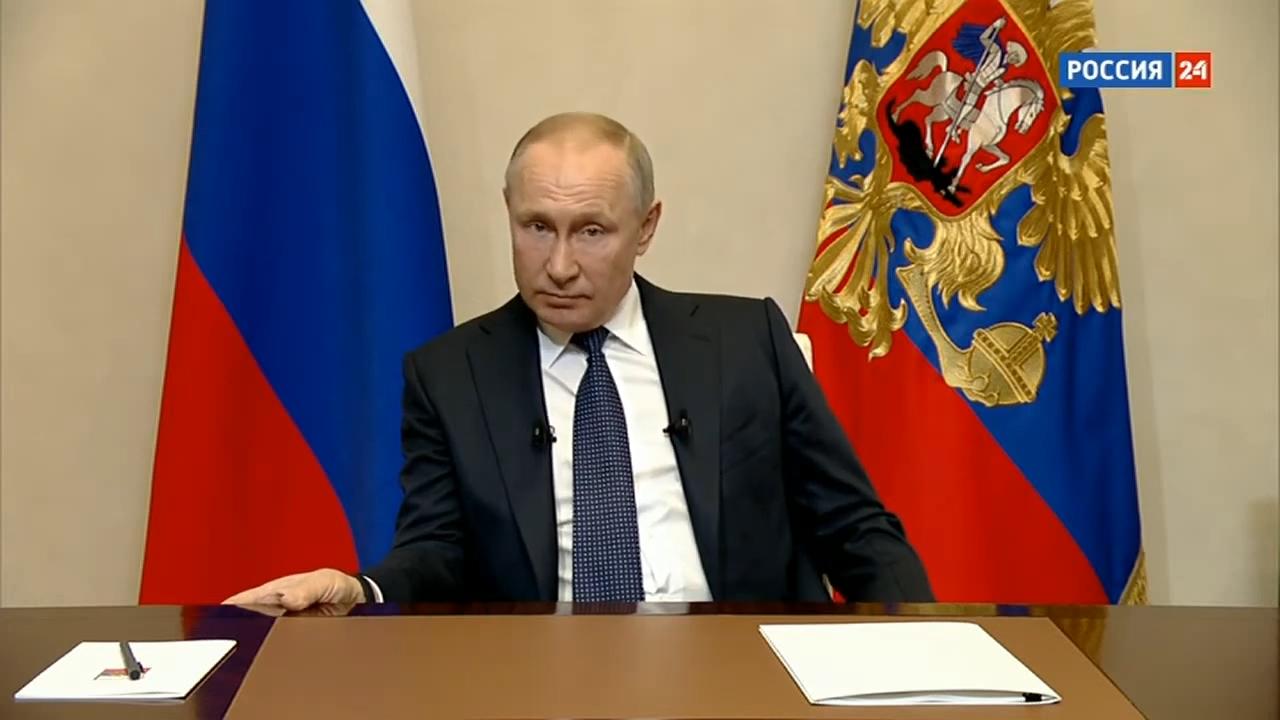 20200325-Срочное обращение Путина к россиянам из-за ситуации с коронавирусом от 25.03.2020. Полное видео