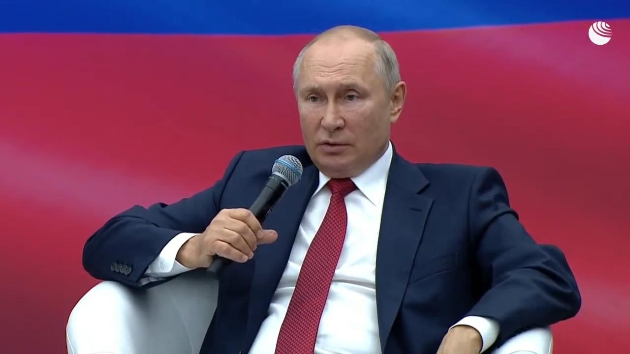 20210822-Путин на встрече с членами партии -Единая Россия-pic1