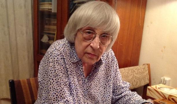 20160312-Поэтесса Юнна Мориц- убитые Савченко журналисты уже не могут объявить голодовку
